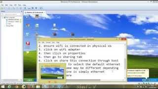 getlinkyoutube.com-How To use WiFi over Virtual OS in VMWARE !!!!!!!!!!