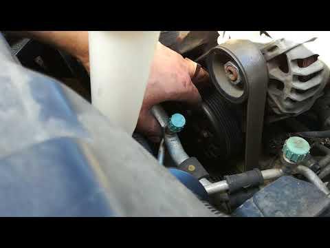 Свист ремня генератора  Киа Рио III на холодную. Причины. Способ  устранения.