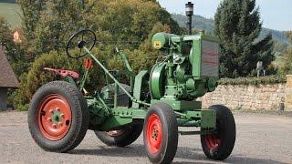 Traktor SVOBODA DK 10 s motorem SLAVIA S100