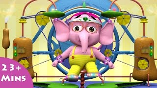 getlinkyoutube.com-The Exert A Tron (Excercise) ✿ Bommi & Friends ✿ Chutti TV | Tamil Moral Stories For Kids |Animation