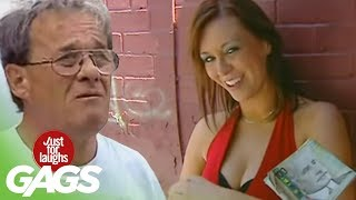 getlinkyoutube.com-Sexy Prostitute Loses Her Money - Just For Laughs Gags