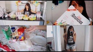 getlinkyoutube.com-Vlog (compras no supermercado, refeições do dia, presentinhos da caixa postal..)