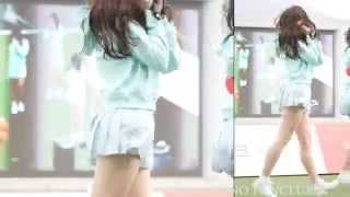 getlinkyoutube.com-Girlfriend GFRIEND 'yerin' White white heart @ Let's Run Park ☆ BAMBINO FAN CLUB ☆