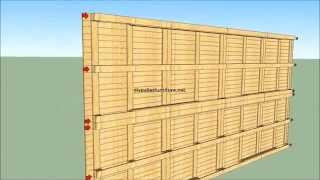 getlinkyoutube.com-how to built a house with pallets