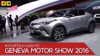 getlinkyoutube.com-Toyota C-HR | Ginevra 2016