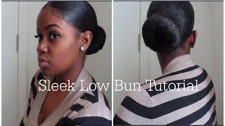 getlinkyoutube.com-Sleek Bun Tutorial