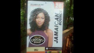 getlinkyoutube.com-Jamaican Bounce Hair By Sensationnel *Review