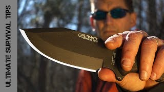 getlinkyoutube.com-WOW! MSK-1: Ultimate Survival Tips Knife is HERE! Made in the USA. Best Survival Knife?