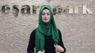 getlinkyoutube.com-Eşarppark   Püsküllü Şal Bağlama Tekniği