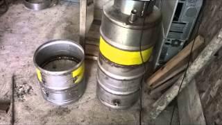 getlinkyoutube.com-Cazan baie din butoaie de bere