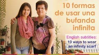 getlinkyoutube.com-10 formas de usar una bufanda infinita / 10 ways to wear an infinity scarl