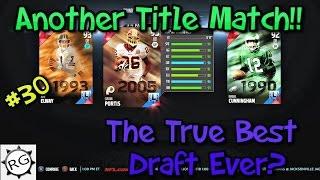 getlinkyoutube.com-Madden 16 Draft Champions #30 Championship Game and Draft!!