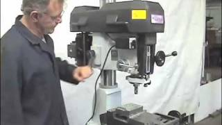 getlinkyoutube.com-Magna Mill Drill small shop home shop mill drill from Industrial machinery
