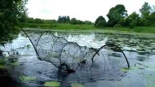 getlinkyoutube.com-Мережа древняя рыболовная снасть Экологический сельский туризм