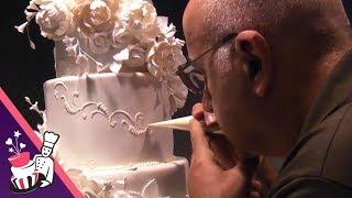 getlinkyoutube.com-The Making Of Maria & Theo's 6 Tier Wedding Cake