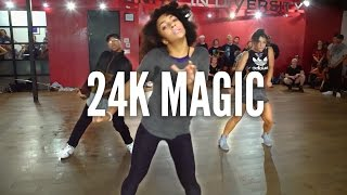 getlinkyoutube.com-BRUNO MARS - 24K Magic | Kyle Hanagami Choreography