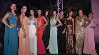 getlinkyoutube.com-Telly Calendar 2015 | Ramp Walk | Tina Dutta, Aditi Gupta, Pooja Gor and Nia Sharma