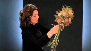 Bridal flowers workshop by top florist Desiree Glasbergen