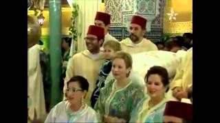 getlinkyoutube.com-مهدي جمعة يحضر حفل زفاف أخ ملك المغرب