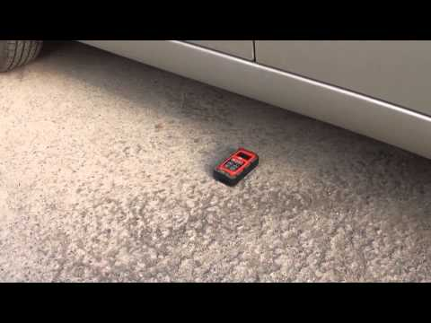 Краш тест Машина против лазерной рулетки ADA ROBOT 40