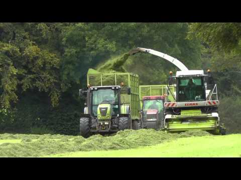Silage 2011 - Enter the Claas Jaguar 870