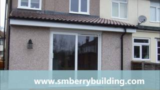 getlinkyoutube.com-How to build a single storey home extension in Sidcup Kent in six weeks