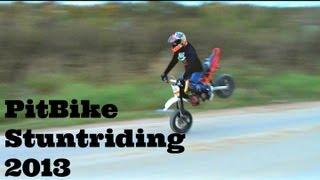 getlinkyoutube.com-PitBike Stuntriding 2013.