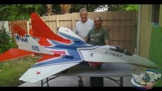 getlinkyoutube.com-MiG-29 Strizhi 1/6 Scale R/C Twin Turbine Power