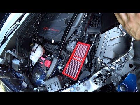 Где в Mercedes-Benz GLC воздушный фильтр