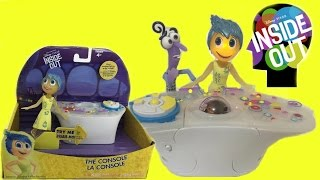 getlinkyoutube.com-Inside Out Movie Toys Console From Disney Pixar Playset Review