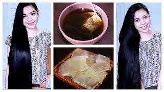 getlinkyoutube.com-DIY Green Tea and Aloe Vera Gel Shampoo For Hair Growth, Hair Fall & Dandruff-Rinse & Mask