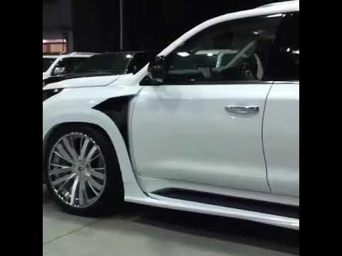 Lexus 570 Нови салона