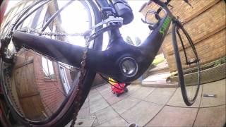 getlinkyoutube.com-Chinese carbon bike frame - Velobuild R041 - possible crack inspection