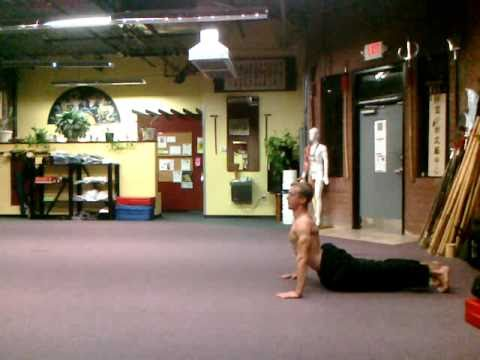 Chinese Qi Gong Posture #7