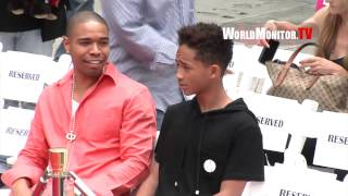 getlinkyoutube.com-Jaden Smith goes crazy over a photographer at Jackie Chan Hand & Footprint Ceremony