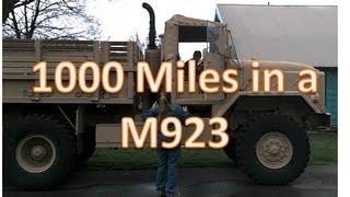 getlinkyoutube.com-Driving an AM General M923 1000 miles