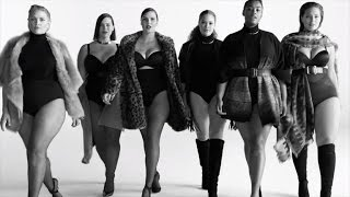 getlinkyoutube.com-Plus-Size Models Proudly Wear Lingerie for 'Plus is Equal' Movement