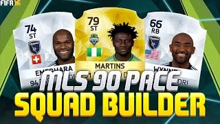getlinkyoutube.com-SWEATY 15K MLS 90 PACE SQUAD BUILDER - FIFA 16 Ultimate Team