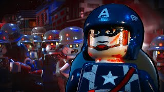 getlinkyoutube.com-Lego Captain America 3: Nazi Zombies