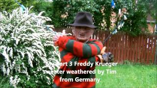 getlinkyoutube.com-My Full Part 3 Freddy Krueger Dream Warrior Costume