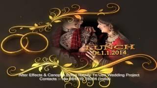 getlinkyoutube.com-After Effects Wedding Title Wedding Rings