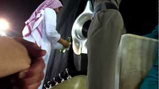 getlinkyoutube.com-Hajr e aswad clear and while cleaning before Fajar