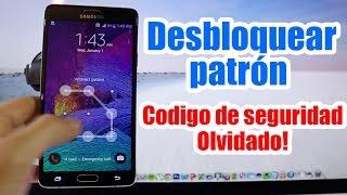 getlinkyoutube.com-Desbloquear Codigo Contraseña Samsung Galaxy / Resetear patrón de desbloqueo / Android