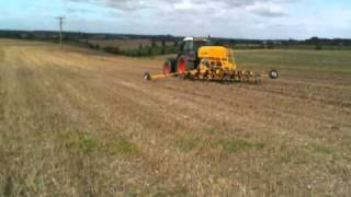 Claydon Hybrid Drill 4.8m - Direct Drilling into Heavey Clay