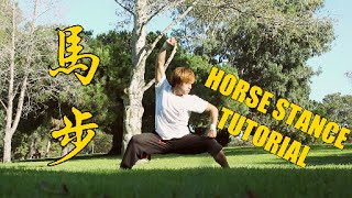 getlinkyoutube.com-HOW TO DO A HORSE STANCE - TUTORIAL 馬步