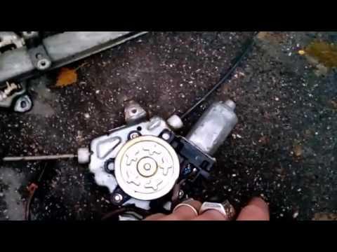 Замена щеток стеклоподъемника на альмера классик