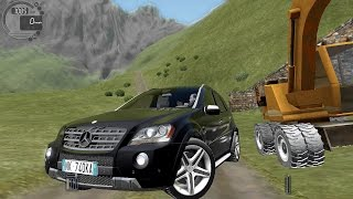 getlinkyoutube.com-City Car Driving 1.5.1 Mercedes ML 63 AMG [G27]