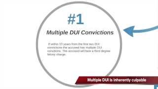 DUI Manslaughter with No Criminal Intent