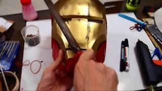 #14: Iron Man Mark 4 Helmet DIY 4/5 - Paint, Battle Damages & Weathering