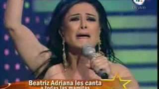 """getlinkyoutube.com-BEATRIZ ADRIANA SEÑORA SEÑORA y Recuerda a su Hijo! """"DIVA DE DIVAS"""" 2009"""